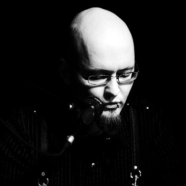 Sascha Dinse, Schriftsteller, Horror und Science-fiction, Foto: Jörg Merlin Noack Fotografik