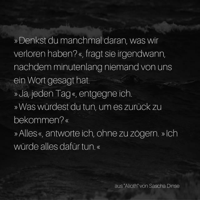 """Auszug aus """"Alioth"""", Science-Fiction Kurzgeschichte von Sascha Dinse"""