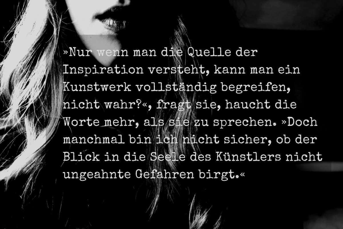 """Zitat aus der Kurzgeschichte """"Isabelle"""" von Sascha Dinse, Horror"""